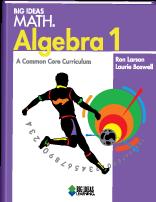 Big ideas math blue book answers