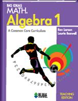Big Ideas Math: Algebra 1 - Teaching Edition